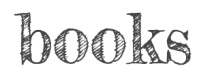 """Text reads, """"books"""""""